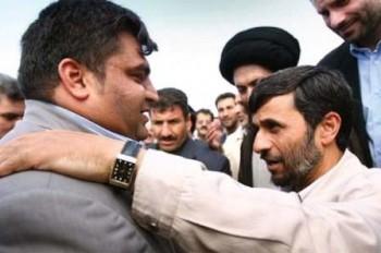 حضور حسین رضازاده در دفتر احمدینژاد