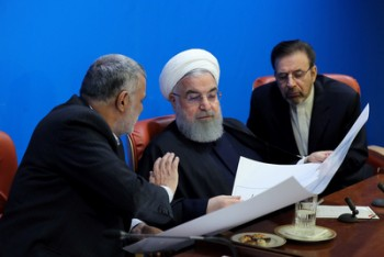 حسن روحانی کاهش ذخایر زیرزمینی آب ایران را خطرناک خواند