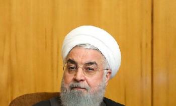 روحانی: آمریکا یک قدم از شعار فراتر برود با مصیبت روبرو خواهد شد