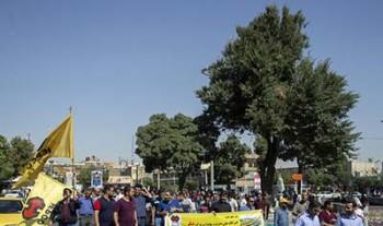 کارگران هپکو اراک تجمع کردند