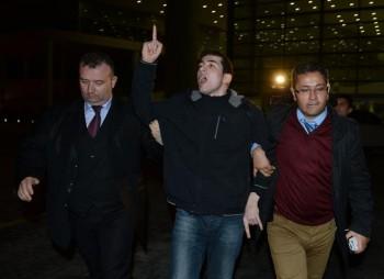 جنجال در حین سخنرانی احمدی نژاد در ترکیه