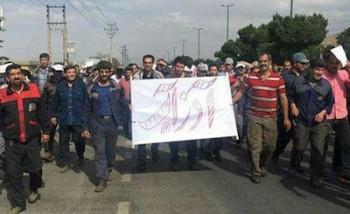 ۴۲ کارگر آذرآب به یک سال حبس و ۷۴ ضربه شلاق محکوم شدند