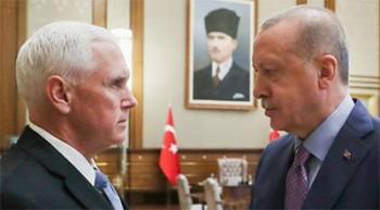 ترکیه عملیات چشمه صلح را متوقف خواهد کرد