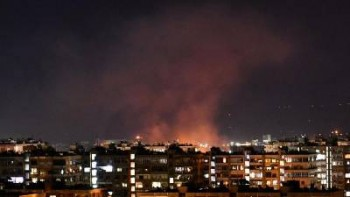 جنگندههای اسرائیل دمشق را هدف قرار دادند