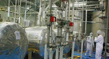 ایران ظرفیت تولید اورانیوم را چهار برابر کرد