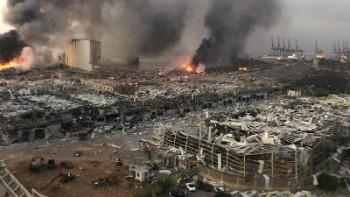 در انفجار بیروت ۲۷۵۰ تن نیترات آمونیوم منفجر شده است