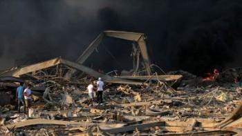 حجم خسارت های انفجار بیروت ۱۵ میلیارد دلار برآورد شد