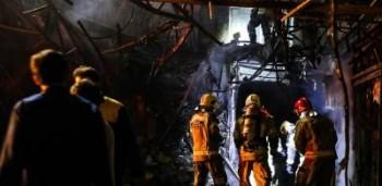 نشت گاز و اتصال برق علت انفجار کلینیک اطهر نبوده است