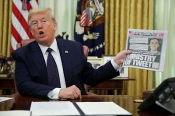 فرمان اجرائی دونالد ترامپ علیه شبکه های اجتماعی امضا شد