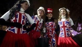 شادمانی مردم انگلیس پس از خروج از اتحادیه اروپا