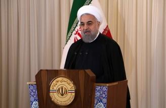 روحانی: قدرت نظامی ما صرفاً برای دفاع از کشورمان است