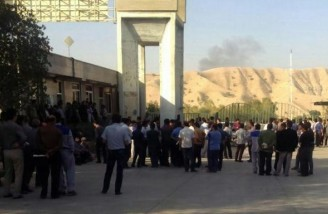 تهدید به اخراج کارگران سیمان مسجد سلیمان با ادامه اعتراض ها
