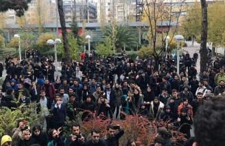 تجمع اعتراضی دانشجویان دانشگاه پلیتکنیک، دانشگاه تهران و بابل
