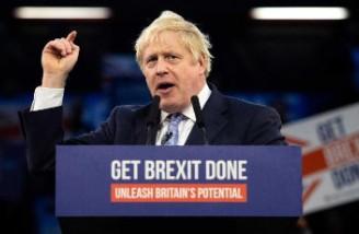 پیروزی قاطع حزب بوریس جانسون در انتخابات مجلس عوام بریتانیا
