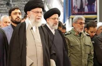 رهبر انقلاب: خدایا! ما جز خیر و خوبی از ایشان ندیدهایم