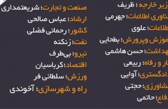 اسامی 17 وزیر پیشنهادی دولت روحانی به مجلس ارسال شد