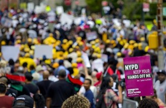 تظاهرات سراسری در آمریکا بر علیه ترامپ؛ من مسلمان هستم