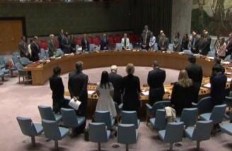 سکوت در شورای امنیت به احترام شهدای حملات تروریستی تهران