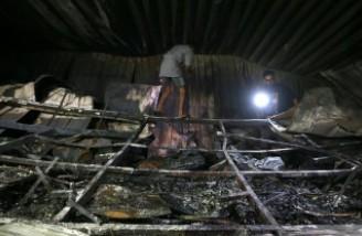 آتش سوزی یک بیمارستان در عراق ۷۵ کشته برجای گذاشت