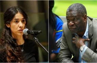 جایزه صلح نوبل به «دنیس موکویگی» و «نادیه مراد» تعلق گرفت