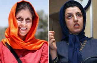 مخالفت دادستانی تهران با آزادی مشروط نازنین زاغری و نرگس محمدی
