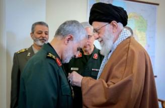 رهبر انقلاب: جمهوری اسلامی سال ها با آقای سلیمانی کار دارد