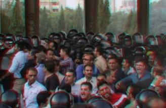 کارگران هپکوی اراک راهآهن شمال - جنوب را مسدود کردند