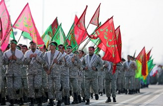رژه روز ارتش در حضور حسن روحانی