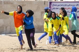 اولین دوره مسابقات هندبال ساحلی بانوان ایران| بندر عباس