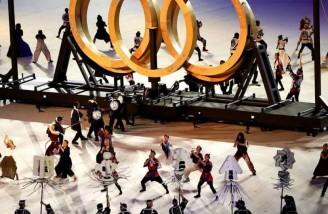 سکوت در افتتاحیه المپیک ۲۰۲۰ توکیو