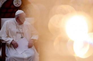 سیمای پاپ فرانسیس در عراق