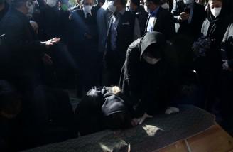 خاکسپاری پیکر استاد محمدرضا شجریان