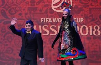 تصاویر ِ بدون ِ روتوش از مراسم قرعه کشی جام جهانی روسیه
