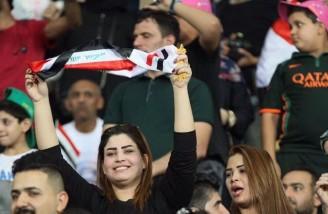 زنان عراق| دیدار اسطورههای فوتبال جهان در بصره