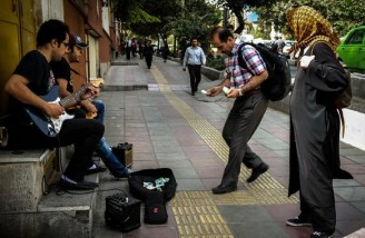 تهران و نوازندگان خیابانی