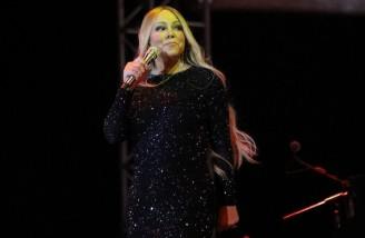 اجرای ماریا کری خواننده زن آمریکایی در عربستان