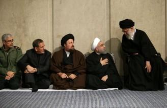 مراسم ترحیم مرحوم هاشمی رفسنجانی در حسینیه امام خمینی(ره)