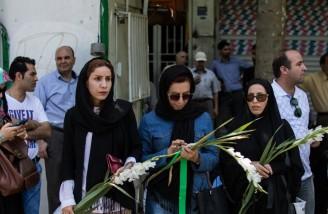 مراسم تشییع پیکر مطهر شهدای حادثه تروریستی