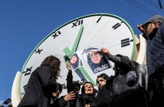 تجمع اعتراضی دانشجویان دانشگاه آزاد