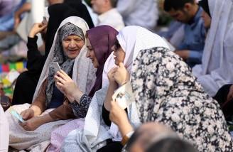 نماز عید سعید فطر در مصلی امام خمینی(ره)