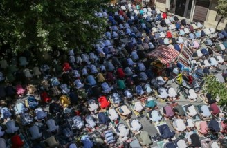 برگزاری نماز جمعه در ایا صوفیه پس از ۸۶ سال