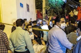 سیمای آدم ها در انفجار مرکز درمانی سینا