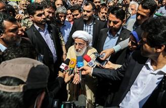 حواشی راهپیمایی روز قدس  تهران
