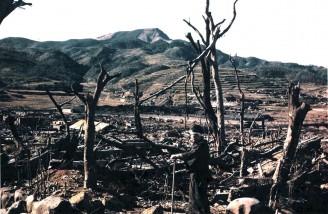 سقوط امپراتوری ژاپن در جنگ جهانی دوم