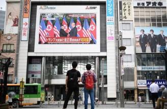 استقبال مردم شرق آسیا از دیدار رهبر کرهشمالی و ترامپ