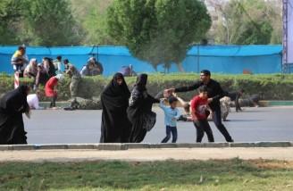 حمله تروریستی اهواز در مراسم رژه نیروهای مسلح
