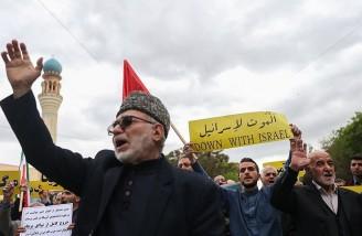 راهپیمایی نمازگزاران تبریز در حمایت از بیانیه شورای عالی امنیت