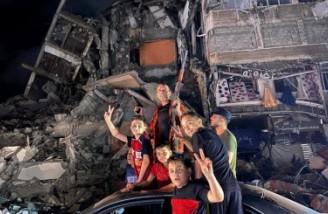 آتشبس در غزه  فلسطینیها جشن شادی برگزار کردند