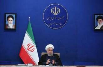 روحانی: در مساله کرونا اصل کار با مردم است