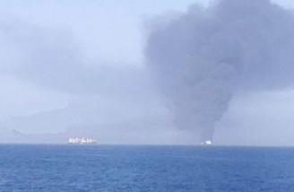 دو نفتکش بزرگ حامل نفت خام هدف حمله قرار گرفتند